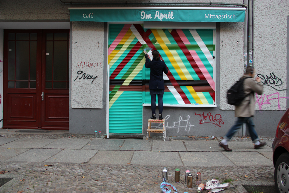 Wall-paintings for NiKitA & CO, Berlin