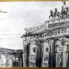 """Urban Sketch """"Pariser Platz"""" (Berlin-Mitte), Sketch Book- 09/09/2009 © Laetitia Hildebrand"""