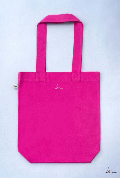 abd952c533 Tote bag colored Cuvrystr. hot pink Laeti-Berlin