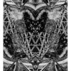 Alliage-Symetrie, linocut (engraving) and mounting, 2013- Laetitia Hildebrand