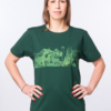 FACE-T-shirt-Unisex-EP100-Potsdamer-Platz--Bottle-green