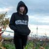 hoodie panorama berlin white