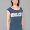 t-shirt Bamboo Blue Panorama Berlin Kunkerkranich Woman