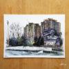 Ernst-Thälmann-Denkmal-poster-A4-urbansketche-Berlin-print-signed-limited-graffitis