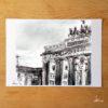 Pariser-Platz-poster-A4-urbansketche-Berlin-print-signed-limited