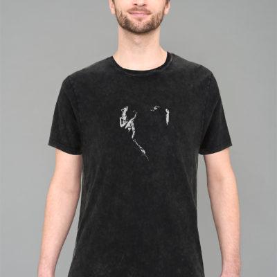 Danseur Velouté- T-shirt Acid Black- Unisex