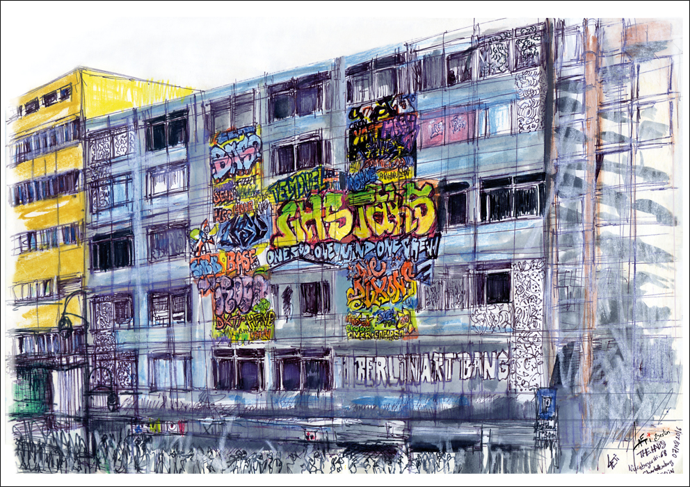 Urbansketch Of Berlin