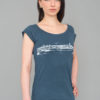 Tempelhof - T-shirt Bamboo, Denim Blue- Woman