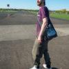 Grey Bag recycled, Cuvrystr. - T-shirt Tempelhofer Feld, bamboo- Berlin