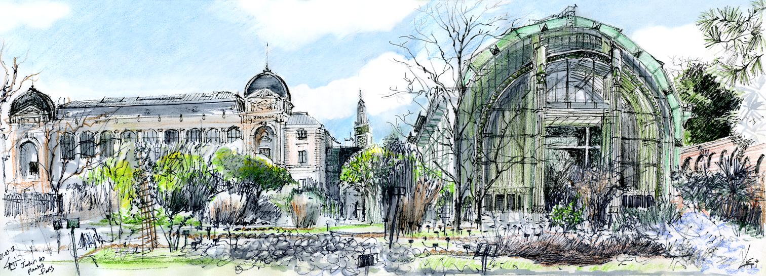 21.03.18- Jardin des Plantes, Muséum (Paris, Fr.)