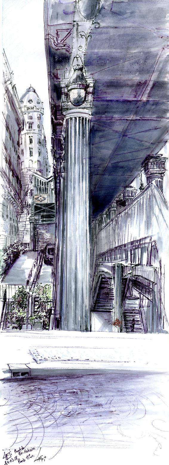24.03.18- Pont de Bir-Hakeim, Metro Passy (Paris, Fr.)