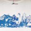 Zoom-Potsdamer Platz Blau-T-shirt Tencel -WHITE- Woman