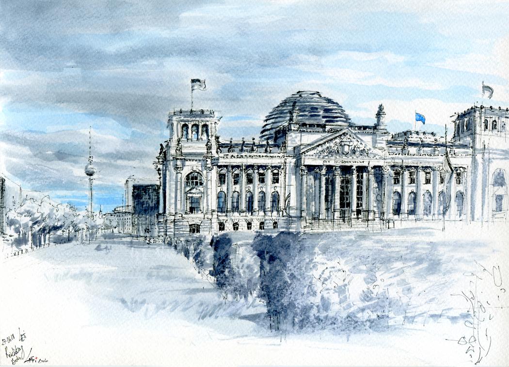 27.06.18- Reichstag (Berlin-Tiergarten)