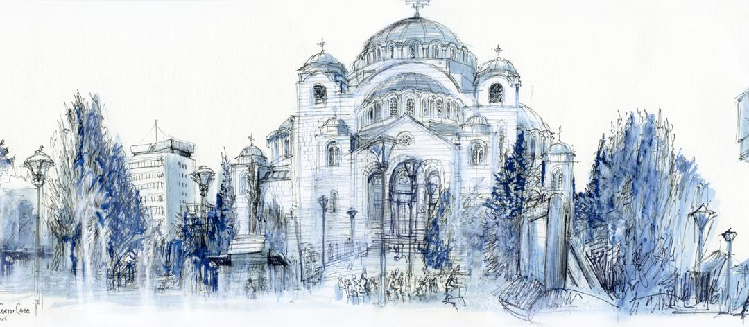 """Résultat de recherche d'images pour """"urban sketchers belgrade serbie"""""""