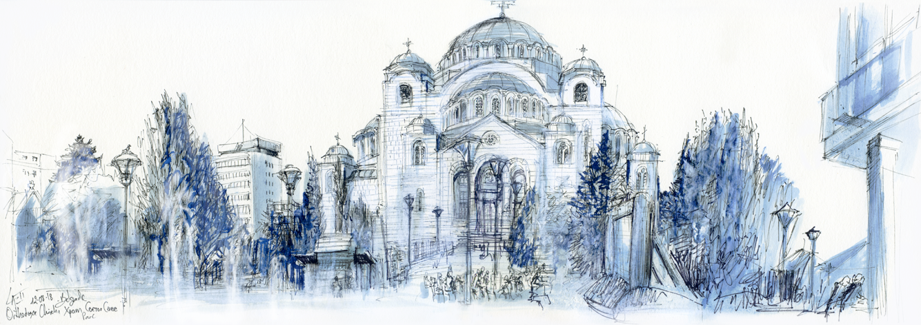 12.08.18- Temple of Saint Sava- Belgrade (Serbia)