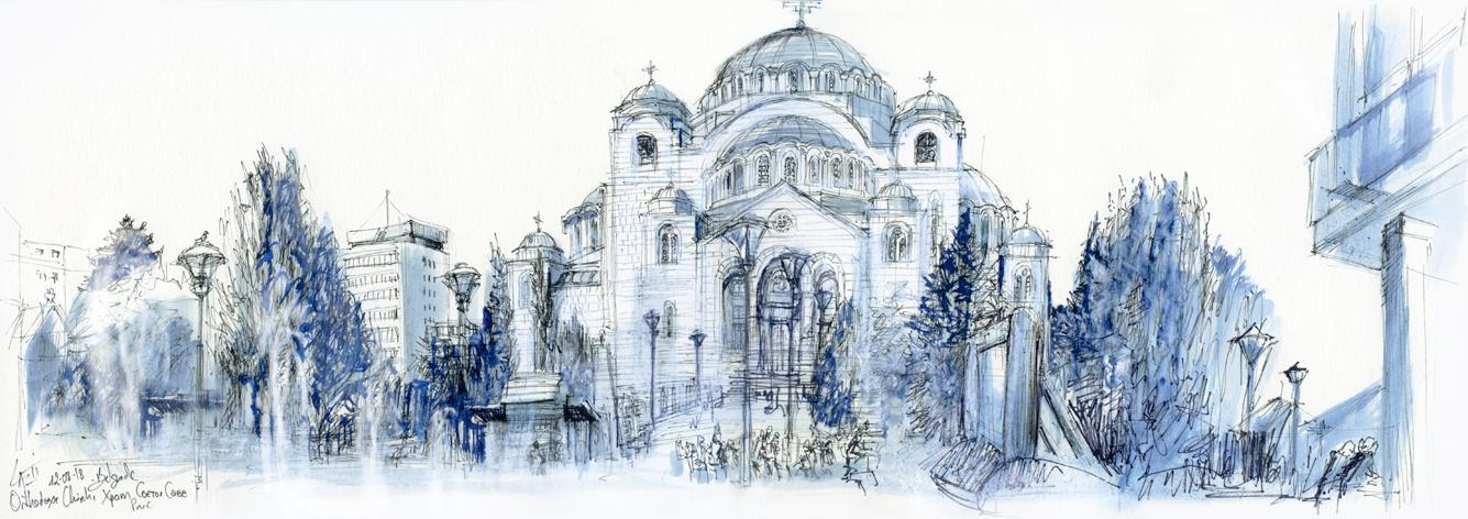 12.08.18- Temple of Saint Sava- Belgrade (Serbia)