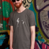 T-shirt-Man-Danseur Veloute, Dark Grey (Dark-Heather)-1