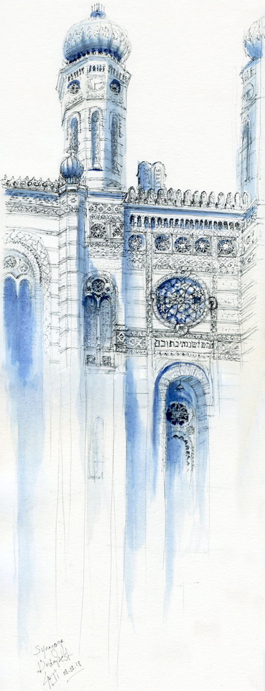 08.08.18- Budapest Great Synagogue, Dohany Street (Hungary)