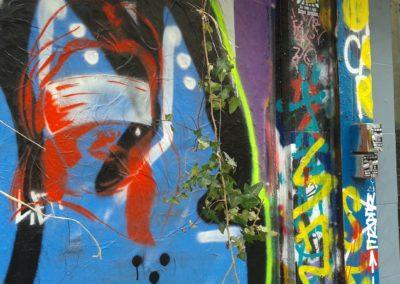 Laeti- Stencil rue Dénoyez, 07.03.15- 4 bis