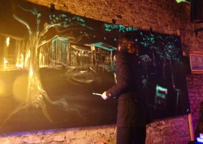 Foto 2. Live Painting, Serendubity-Rosi's 30.04.16-BEST