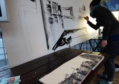 Laeti- Wall Painting Show- Neue Heimat- 09.09.15- Berlin- 1-BD