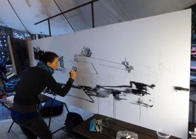 Laeti- Wall Painting Show- Neue Heimat- 09.09.15- Berlin- 3-BD