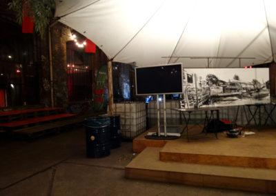Laeti- Wall Painting Show- Neue Heimat- 09.09.15- Berlin-Final ensemble- BD