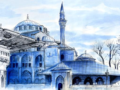 13.04.19- Armory Square Fountain – Kilic Ali Paşa Mosque (Istanbul, Tu.)