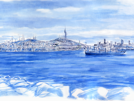 14.04.19- Skyline Asian part- Bosporus Strait (Istanbul, Tu.)