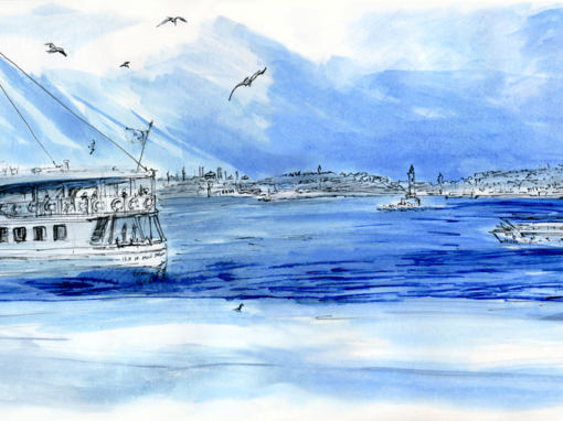 20.04.19- Panorama Sultanahmet from Asian Part (Istanbul, Tu.)