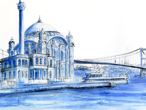 21.04.19- Bosphorus Bridge – Mosque of Ortaköy (Istanbul, Tu.)