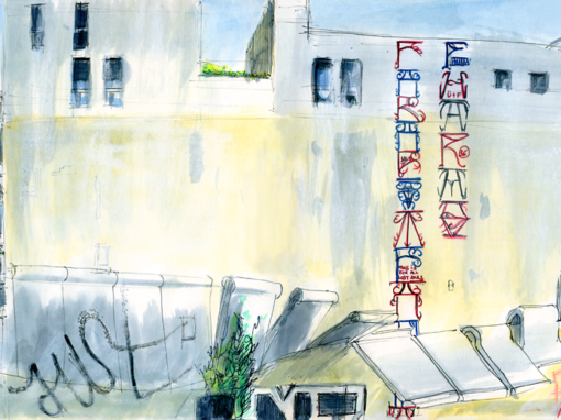 11.07.19- Parkplatz Graffitis, Köpenickerstr. (Berlin-Kreuzberg)