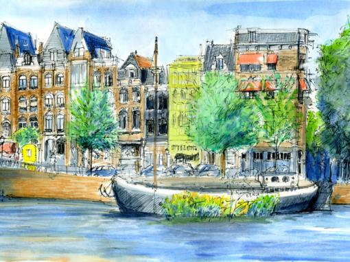 24.07.19- Blawbrug, Amstel (Amsterdam, NL)
