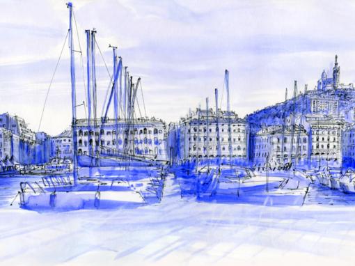 23.09.19- Le vieux Port, Notre Dame de la Garde (Marseille, Fr.)