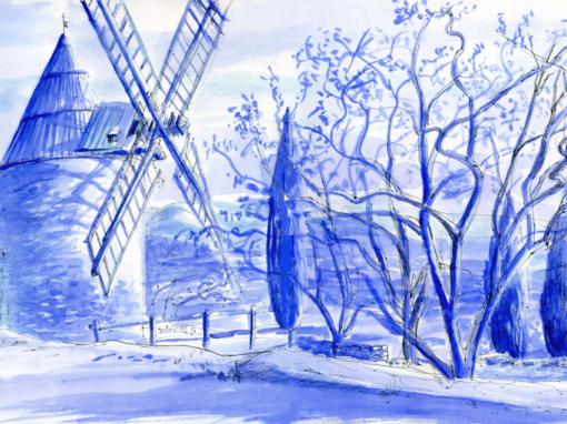 24.09.19- Moulin de Saint Saturnin les Apt (Vaucluse, Fr.)