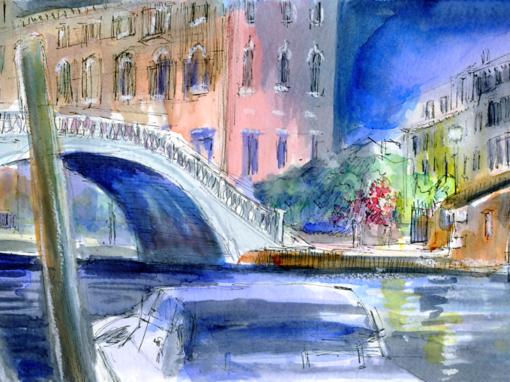 17.10.19- Canals by night, Fondamenta Rio Nuovo (Venice, It.)