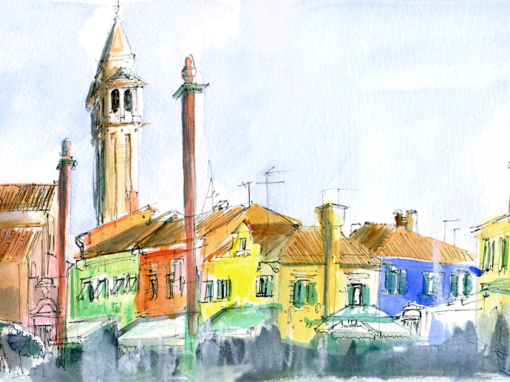 20.10.19- San Martino church tower, Burano (Veneto, It.)