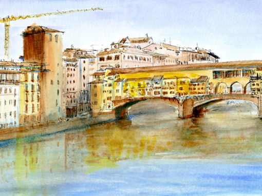 22.10.19- Ponte Vecchio- Arno (Florence, It.)