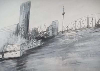 Zoom 1- Live Painting Expo-Berlin Urban Sketches-29.08.2019