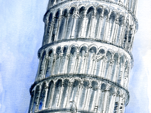 26.10.19- Torre di Pisa- Piazza dei Miracoli (It.)