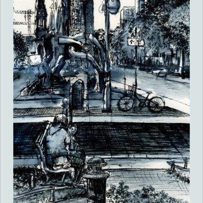 Poster Gedächtniskirche Berlin