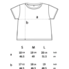 Dimensions N28 - WOMEN'S CROPPED JERSEY T-SHIRT