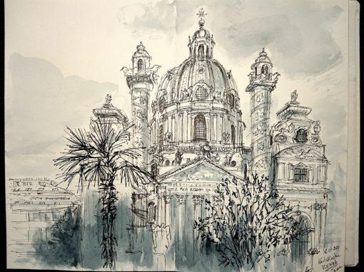 12.07.20- Karlskirche, Vienna (Austria)