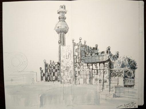 13.07.20- Fernwärme Wien- Hundertwasser, Vienna