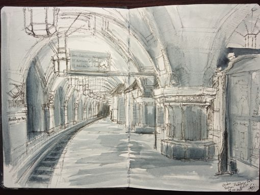 02.01.21- U-bahn Station Heidelberger Platz (Berlin -Wilmersdorf)